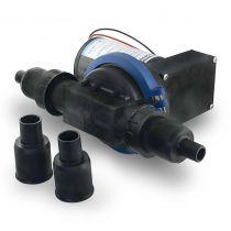 Albin  משאבת דיאפרגמה מים אפורים 22 ל' (5.8 GPM)  24V