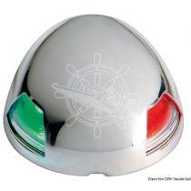 פנס ביקולור נירוסטה עם נורת LED לסירות עד 12 מ'
