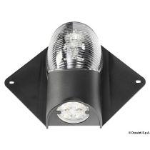 פנס לבן ראש תורן עם תאורת סיפון LED