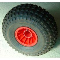 """גלגל בלון גדול משונן 250*560 מ""""מ"""