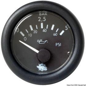 שעון לחץ שמן GURADIAN 12V