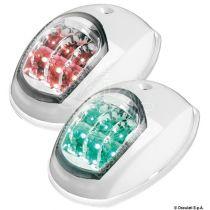 סט פנסי ניווט אדום/ירוק LED גוף פלסטיק