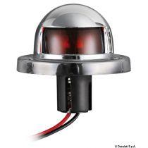 אור ניווט אדום בצורת כיפה 12 V