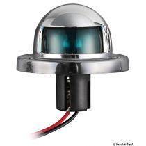 אור ניווט ירוק בצורת כיפה 12 V