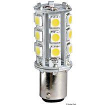 נורת LED 2 מגעים פינים מדורגים 24V חלופית ל10W