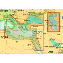 כרטיס מפה C-MAP מסוג Max-N - מזרח ים תיכון