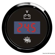 שעון וולטמטר דיגטלי 8-32 ולט (מד מתח)