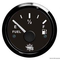 שעון דלק Fuel level gauge 240/33 Ohm black/black