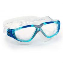 Aqua Sphere מסיכת שחייה Vista - תוצרת איטליה
