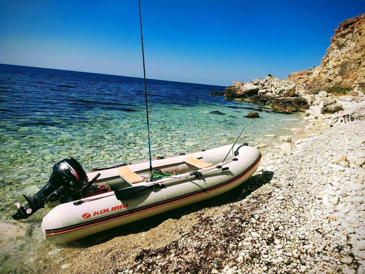 גלו את החוף עם סירת גומי מתנפחת מקצועית - סירות קוליברי KOLIBRI